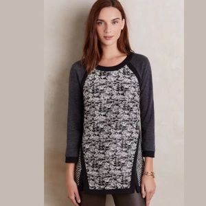 ANTHROPOLOGIE HARLYN ADELAIDE KNIT TOP SWEATER XS